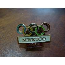 Pin Antiguo De Las Olimpiadas De México 68