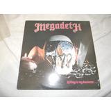 Megadeth Lp Vinil Acetato Killing Is My Business Dist0 Comba