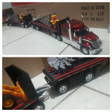Trailer A Escala 1:32 Doble Remllque Full New Ray Welly