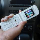Celular Pulsare® 360 Blanco Teclado Grande Bluetooth Cámara