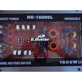 Módulo Amplificador B.buster Bb1600gl 600rms 4ch Mono/stereo
