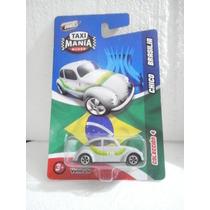 Taxi Mania Taxi Vw Bocho Chico Brasilia Gris