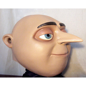 Gru Mi Villano Favorito Mascara De Latex Disfraz Minions