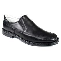 Sapato Masculino Confortável Palmilha Com Amortecedor