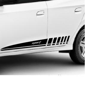 Adesivo Faixa Lateral Tuning M2 Porta Carro Chevrolet Onix