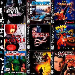 Patch Jogos De Ps1 Psone Playstation Impressão No Cd