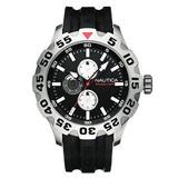 Reloj Nautica Modelo N15564g Bfd 100 Multifunction