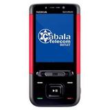 Celular Nokia 5610 Preto E Vermelho Com Defeito