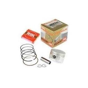 Pistão Crf 230 1mm Kmp Com Anéis Rik 66,5mm Kit Premium