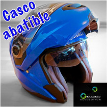 Casco Abatible Economico Barato Winmex Lentes Color No Ls2