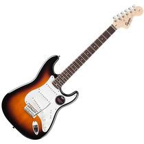 Guitarra Elec Stratocaster Squier California Fat Rwn Sunburs