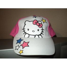 Gorro Con Vicera De Hello Kitty