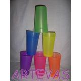 Vaso Plastico Flexible De 750 Cc Color X 200 Unidad