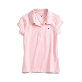 Tommy Hilfiger Camiseta Polo Big Girls Tam M (eua)
