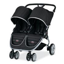 Carrinho De Bebe Para Gêmeos Britax B-agile Stroller Preto