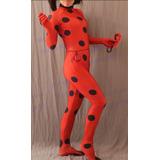 Fantasia Miraculous Aventuras De Ladybug Adulta Luxo