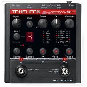 Tc Helicon Voicetone Harmony G Xt . Pedal Voz . Loja . Nfe