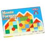 Monte Formas Casa 3 Em 1 Brinquedo Em Madeira - Carimbras
