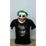 Camiseta Coringa Com Máscara Coringa