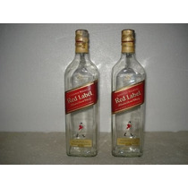Garrafa Whisk Red Label Johnnie Walker Vazia 1 Litro