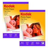 Papel Kodak Injet A4 230grs