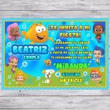 Kit Imprimible Bubble Guppies Invitacion Golosinas Editable