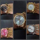 Kit 10 Relógios Feminino C/pulseira+20 Caixa Atacado/revenda