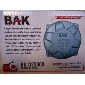 Kit C/ 02 Drives Corneta Bak Bk-2500x 150rms D250x