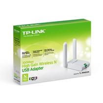 Placa De Red Usb Wifi Tp-link Tl-wn822n 300mbps 2 Antenas