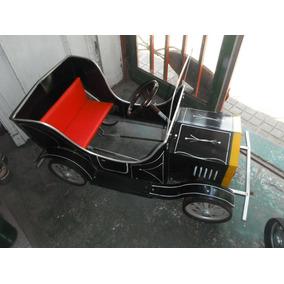 Antiguo Autito A Pedal Ford T Original 100%