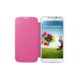 Capa Flip Cover Galaxy S4 Original Rosa | Novo - Lacrado