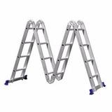 Escada Super Ladder 12 Degraus 9 Em 1 Alumínio 150kg