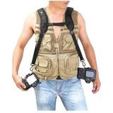 Doble Correa Rápida Quick Strap K Cámara Reflex Canon Nikon
