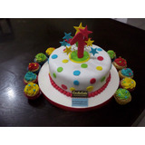 Tortas Decoradas - 1er Año Nene