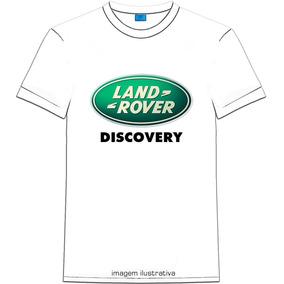 Camiseta Unisex C/ Discovery Land Rover Logo