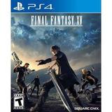 Final Fantasy Xv Day One Edition Para Ps4 Nuevo Y Sellado