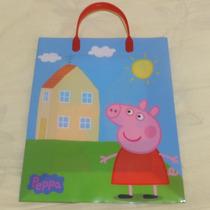 Sacola Plastica Importada Para Presentes Original Peppa Pig