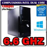 Cpu Intel Core I3 Quad Thread 6.6ghz 4gb Ram Hdmi Vga 500gb