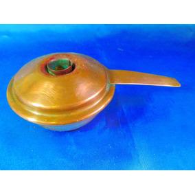 El Arcon Antigua Lampara Aceite Cobre Y Bronce 16,5cm 13053