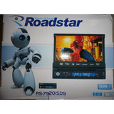 Dvd Retratil Roadstar Rs-7920isdb Tv Digital/usb/touch Tela7