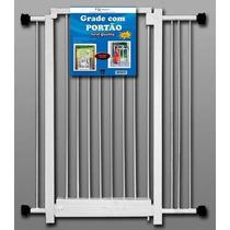 Portão De Segurança P/ Bebe Escadas + 2 Extensores