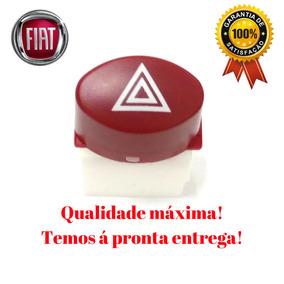 Botão Reparo Chave Pisca Alerta Palio Siena Strada Uno 08/14