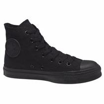 Zapatillas Bota Converse Allstar Monochrome Negra Unisex