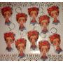 20 Llaveros Colgantes Frida Kahlo Souvenir Muñequito