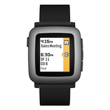 Pebble Time Smartwatch - Negro