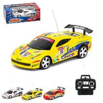 12un Carro Com Controle Remoto E Luz Pro Turbo A Pilha