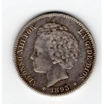 1 Peseta 1893 Moneda España *rara¨* Unica En Ml Exc Estado