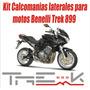 Kit Calcomanias Laterales Para Moto Benelli Trek 899