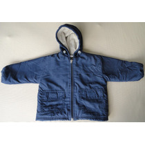Campera Talle 12-18 M. Impermeable Interior Lana Impecable !