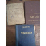 Lote De Libros Antiguos Talisman-signo-resumenes
